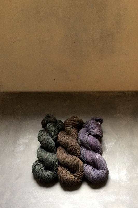 DL Rigter hand dyed yarns for tapestry