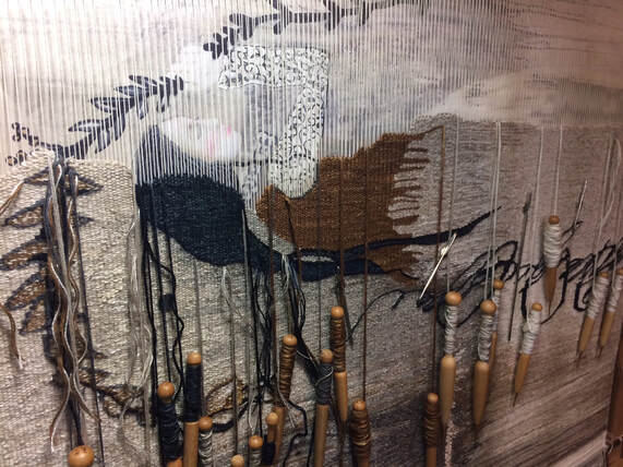 DL Rigter tapestry weaving